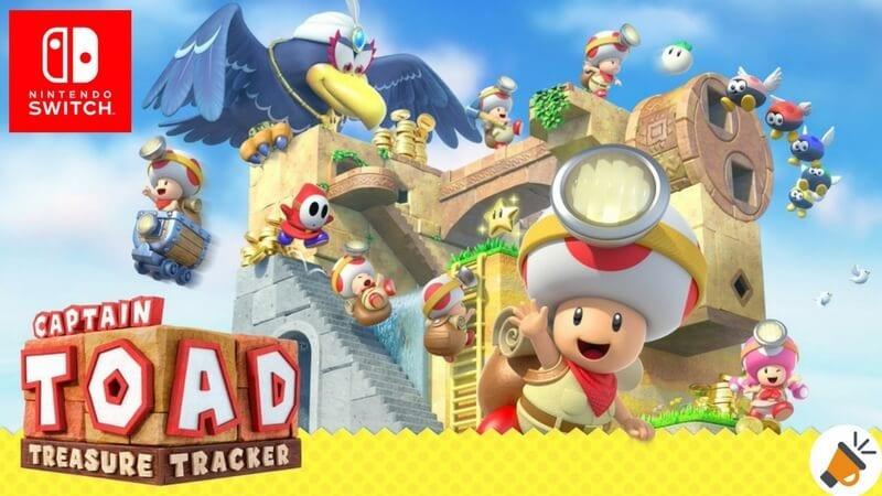 Captain Toad Treasure Tracker Para Nintendo Switch Por 33 99