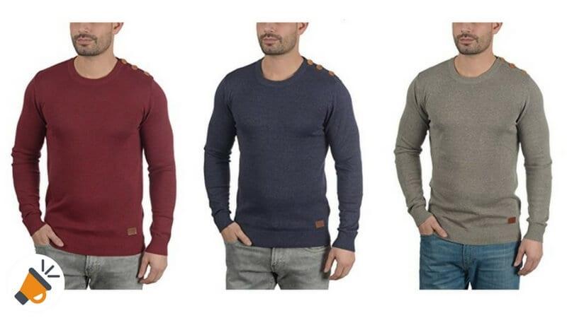 3255d0f23c5 40 Dto Jerseys De Punto Para Hombre De Blend Louis Por Sólo 2395