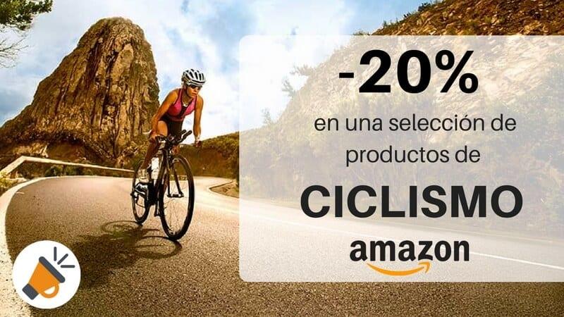 ÚLTIMOS MINUTOS! Cupón 20% DTO. en Ciclismo en Amazon