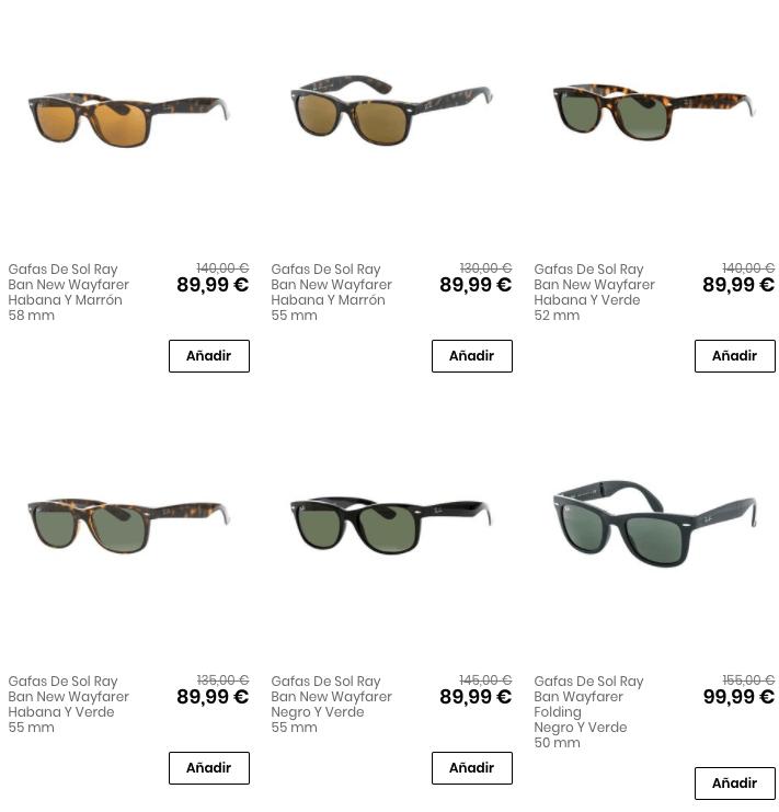 diseño atemporal 64be5 2427f 🤑 ¡OUTLET RAYBAN! Hasta 50% DESCUENTO en gafas RayBan 😎😎