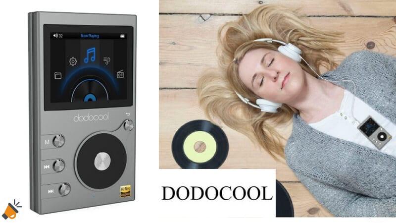 3371917613f CUPÓN DTO! Reproductor de música Hi-Fi Dodocool de 8GB por solo 35,99€