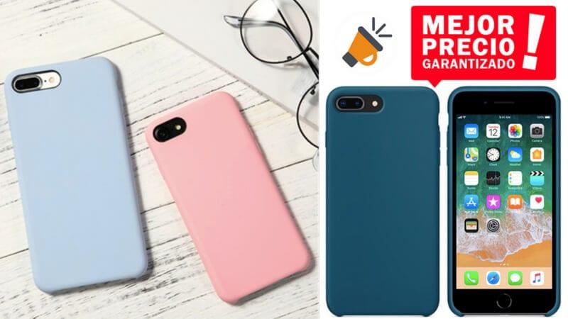 b57659b5707 PRECIAZO! Replica funda oficial de silicona para iPhone por solo 2,98€