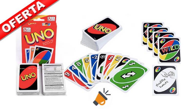 Chollo Loco Juego De Cartas Uno Por Solo 3 38 Con Envio Gratis