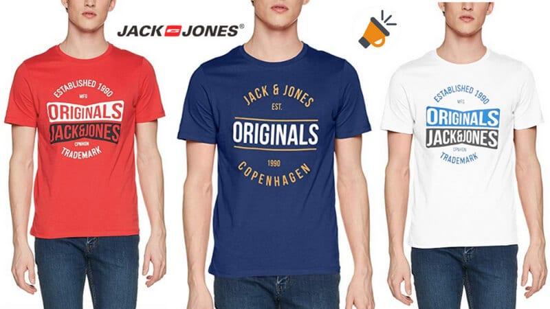70e2c5ab0420b REBAJA! Camisetas Jack   Jones Jormusai en varios modelos por 7