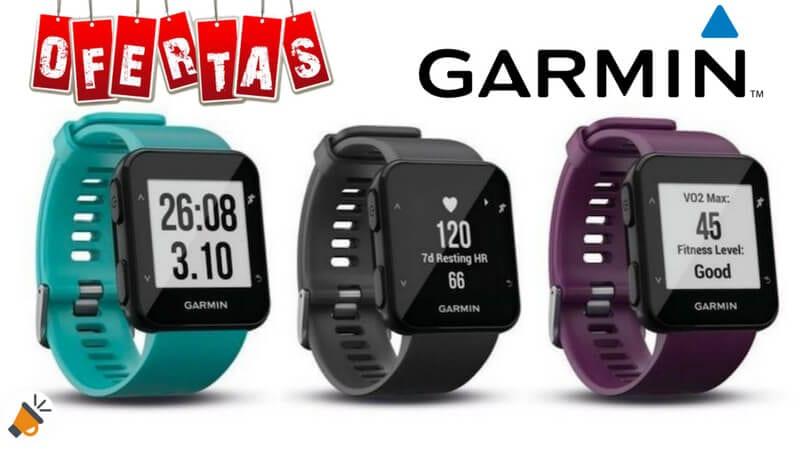 7865275e3287 OFERTÓN! Reloj GPS Garmin Forerunner 30 por SOLO 99