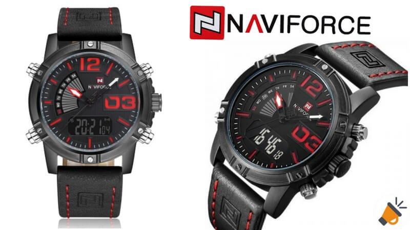 CUPONACO! Reloj de hombre Naviforce 9095 en diferentes colores por 9 28b2d882b8e6