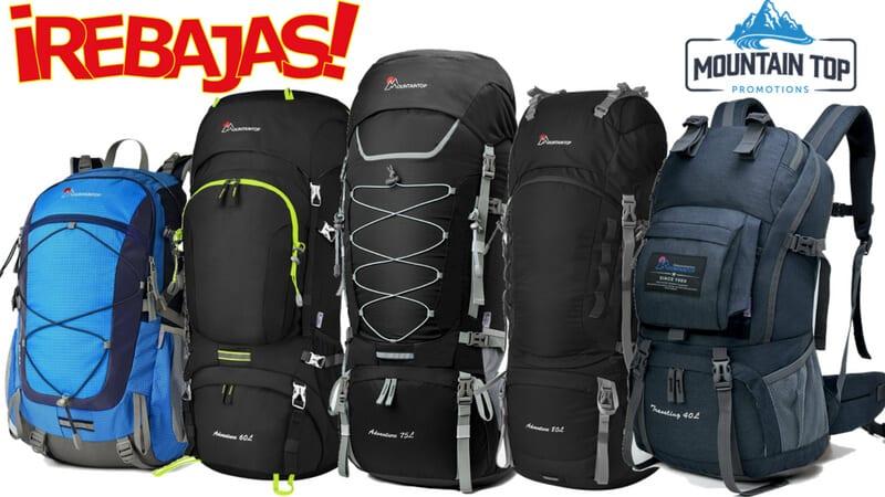 6d75a17b0 SOLO HOY descuentos LOCOS en mochilas de senderismo MOUNTAINTOP