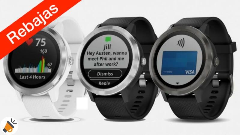 8befeaa1b OFERTA! Reloj GPS Garmin Vivoactive 3 con pulsómetro por 160,90€