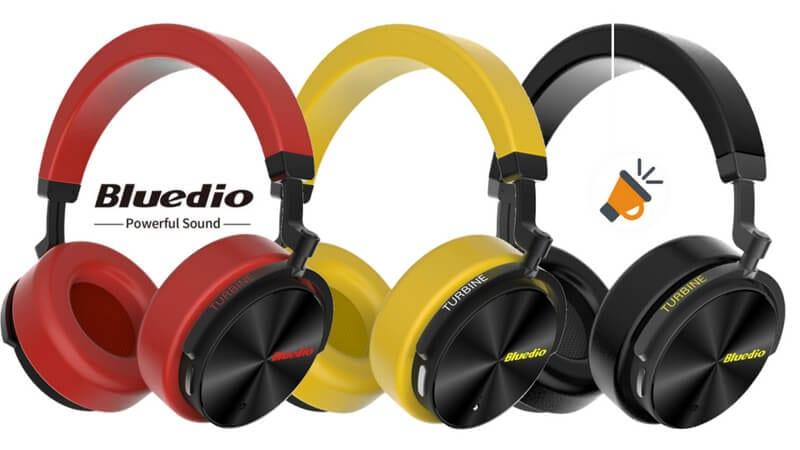 cc874bf9ce8 MÍNIMO! Auriculares Bluetooth inalámbricos Bluedio T5 por 18,99€