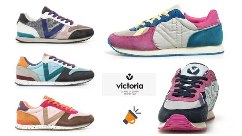 0594ddf8f882e DESCUENTAZO! Zapatillas de piel combinada Victoria para mujer por 22