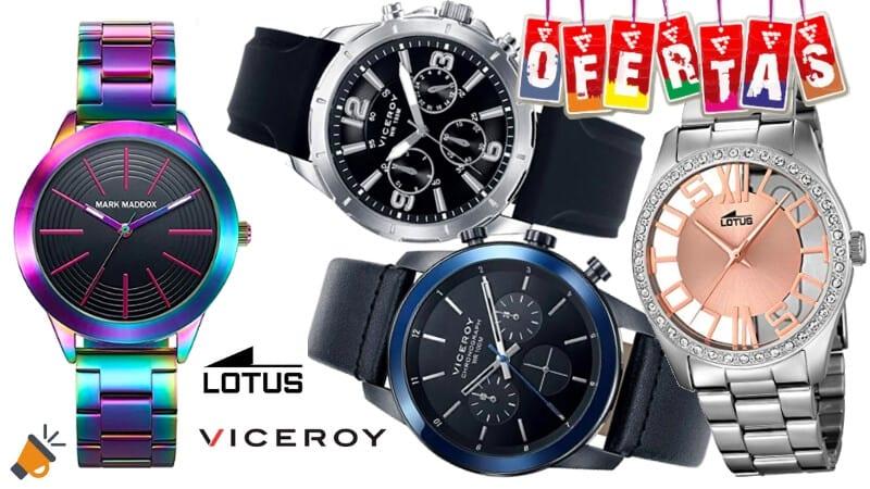 7a46d1adbe2b SÚPERPROMO! Relojes Viceroy y Lotus con hasta 30% de descuento