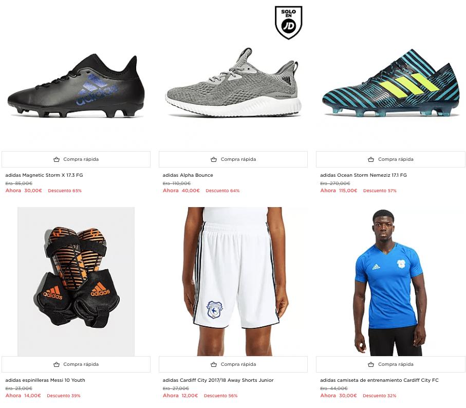 cf028b1db71 Selección de artículos de Adidas con hasta un 40% de descuento