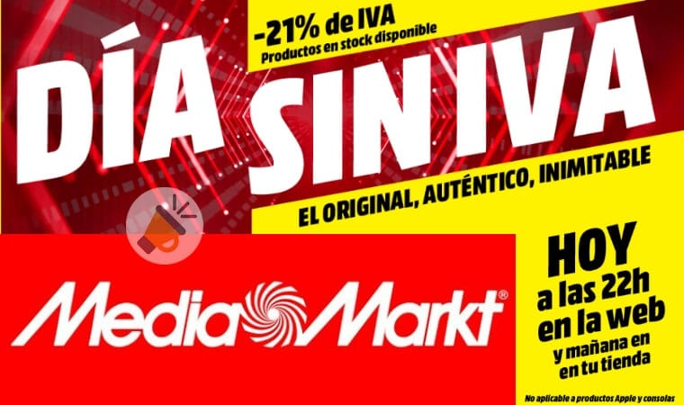 Solo hoy grandes ofertas en el d a sin iva de media markt for Ofertas hornos media markt