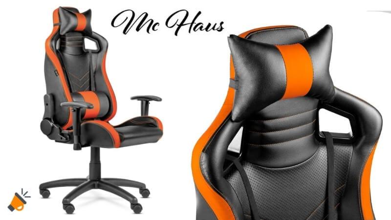 MÍNIMO! Silla de escritorio McHaus Gaming PRO por 79,90€
