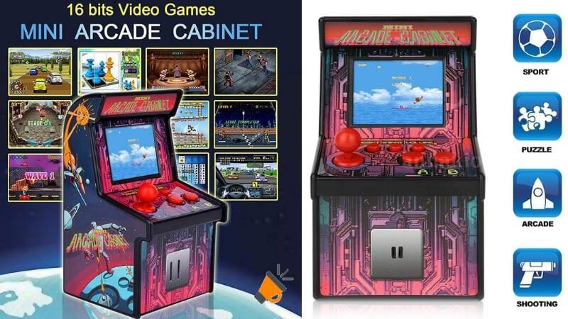 Chollazo Mini Maquina Recreativa Arcade Con 200 Juegos Por 14 80