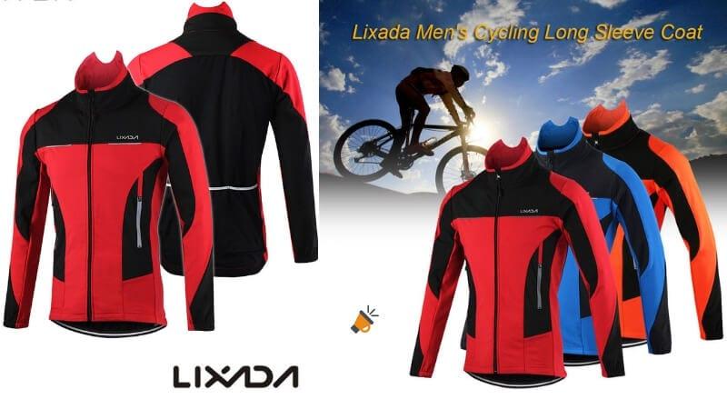 descuento más bajo moda de lujo último clasificado CHOLLAZO! Chaqueta de ciclismo para hombre Lixada por solo ...