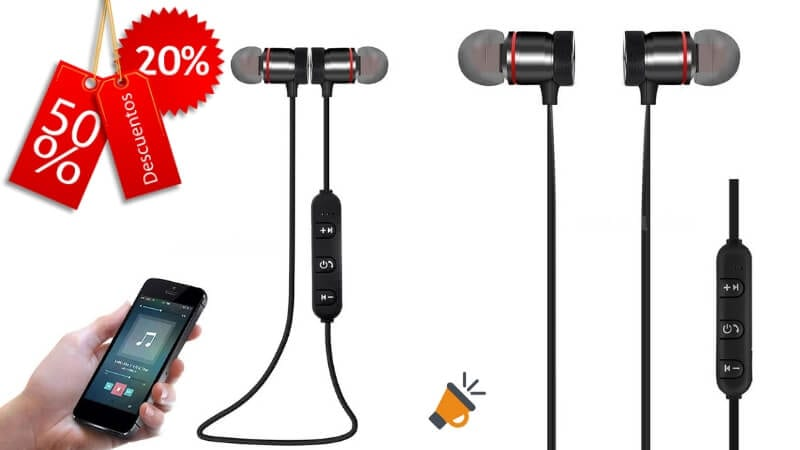 f13ebe0ef6e ¿Buscas unos auriculares deportivos baratos? Consigue aquí auriculares  bluetooth ...
