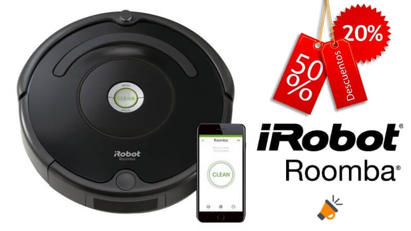 ¿Buscas un robot – aspirador barato  Consigue aquí el iRobot Roomba 675 ... d0ebba3606df