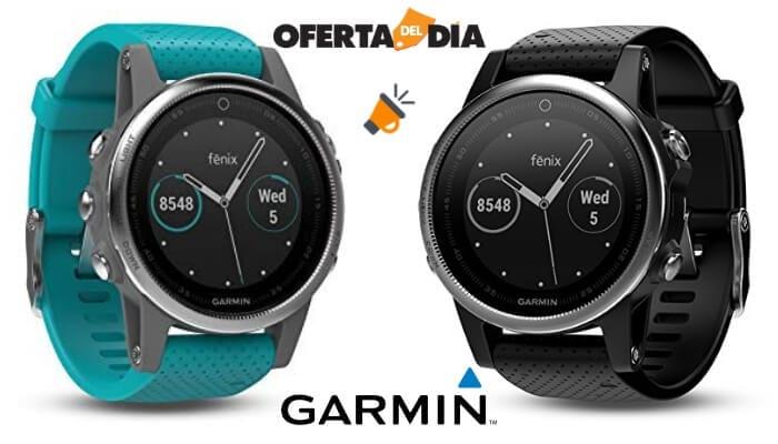 5b5c1d34a ⚡⌚¡SOLO HOY -200€! Reloj GPS Garmin Fenix 5S por solo 349€