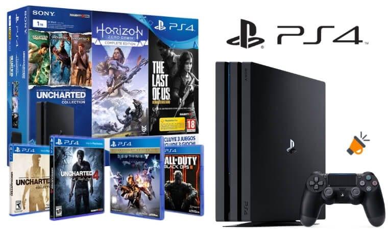 Preciazos Ofertas Navidenas En Packs Playstation 4 En Amazon