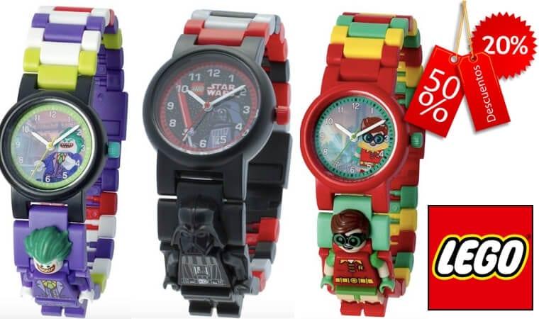 fbafc688792a MUY CHULOS! Hasta un 45% DTO. en una selección de relojes Lego