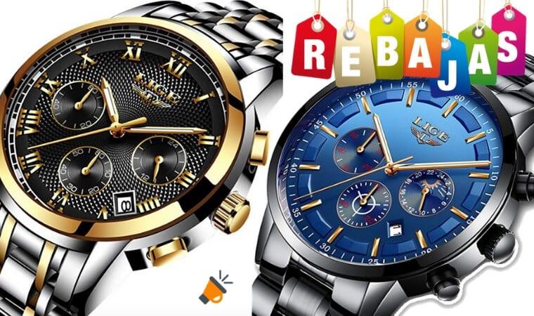 ¡OFERTAS DEL DÍA! Relojes de cuarzo Liege para hombre por 26€ d97ef3cb717f