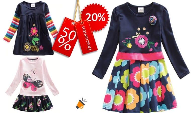 3e4294917 ¿Buscas vestidos baratos  Consigue aquí vestidos para niña en oferta