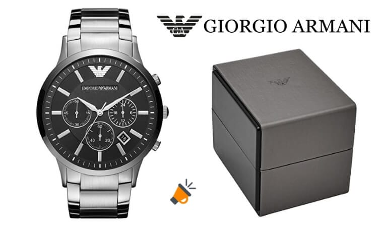 6197ee611a0d MÍNIMO HISTÓRICO! Reloj Emporio Armani para hombre por 155€
