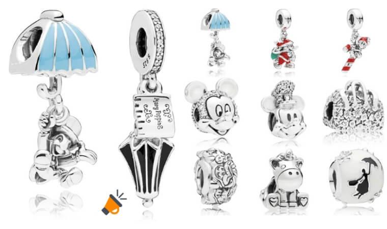 beafcf60fe3d CHOLLO! Abalorios Disney de plata para pulseras Pandora desde 6,85€