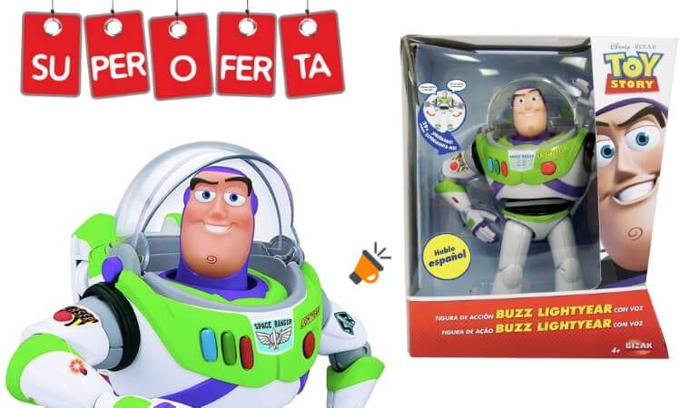 De 41 Lightyear Voz Sonido Y Por Toy Story 40DtoBuzz Solo 99€ Con 0wPnOk
