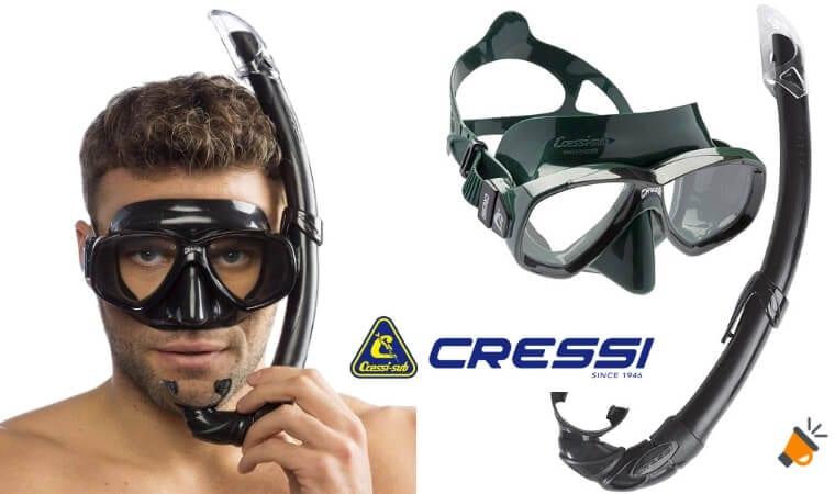 OFERTA DEL DÍA! Set para Snorkeling Cressi Perla Mare por solo 15,96€