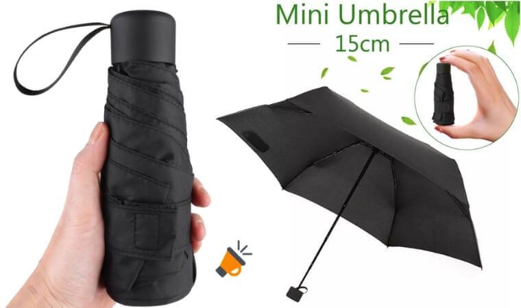 Reino Unido vendible replicas ☂¡PRECIO DE FÁBRICA! Mini paraguas plegable de solo 17cm por 8€