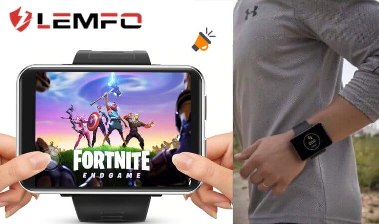 ¡WOWW! LEMFO LEM T: el smartwatch con la pantalla + grande
