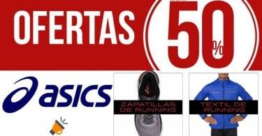 MEGAPROMO ASICS! Hasta 60% DTO. en zapatillas, ropa y
