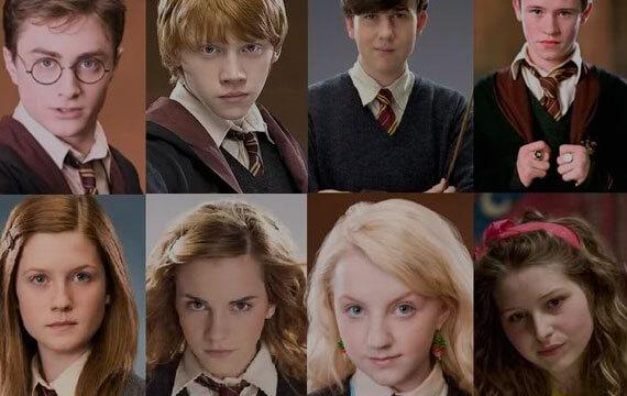 Puedes nombrar a todos estos personajes de harry potter - Test de harry potter casas ...