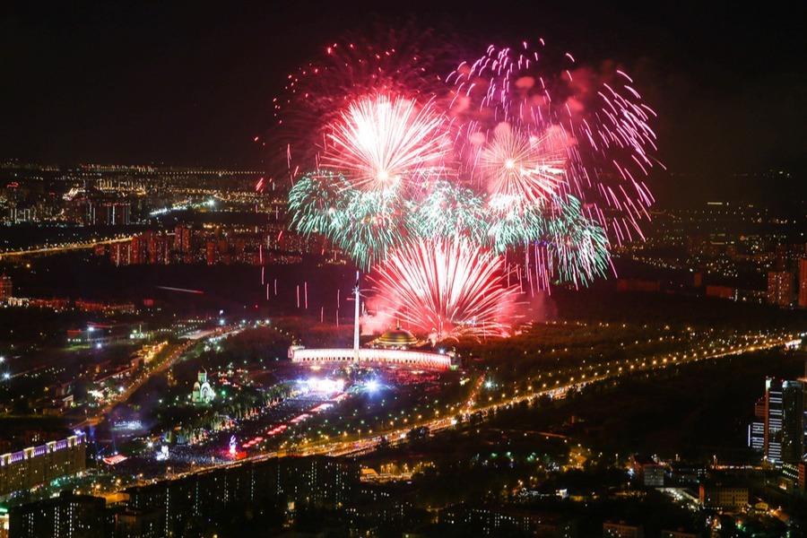 Новый год в Москва Сити
