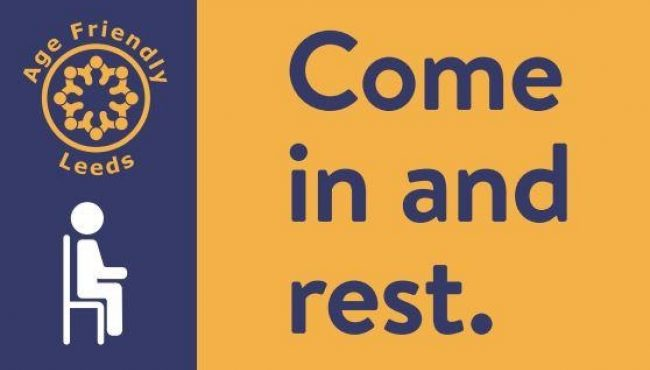 Come In And Rest Sticker