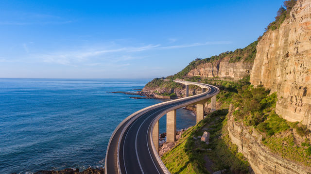 Sea Cliff Bridge, New South Wales