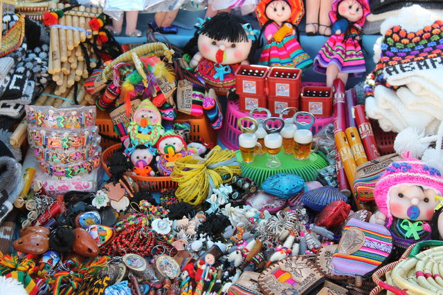 Kleurrijk Bolivia