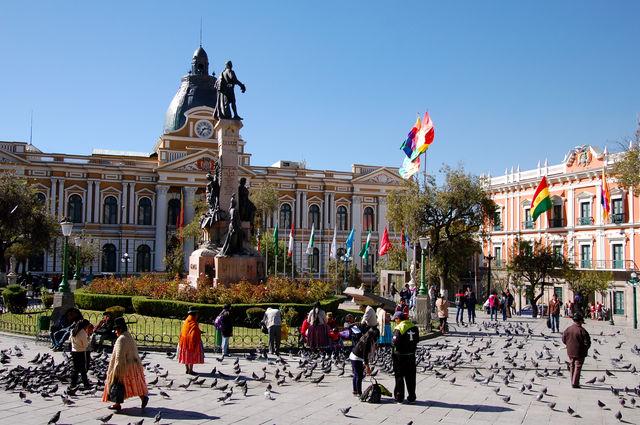 Plein in La Paz