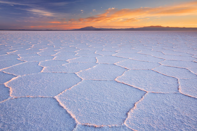 Kristallisatie, Salar de Uyuni