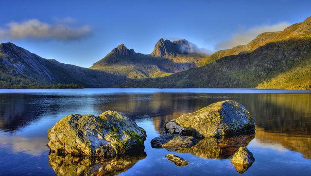 Dove Lake, Cradle Mountain, Tasmanië