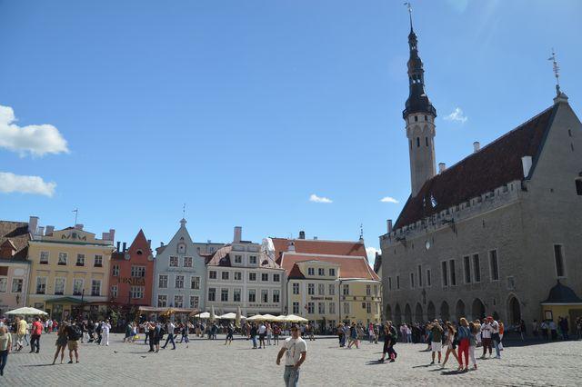 Raadhuisplein Tallinn