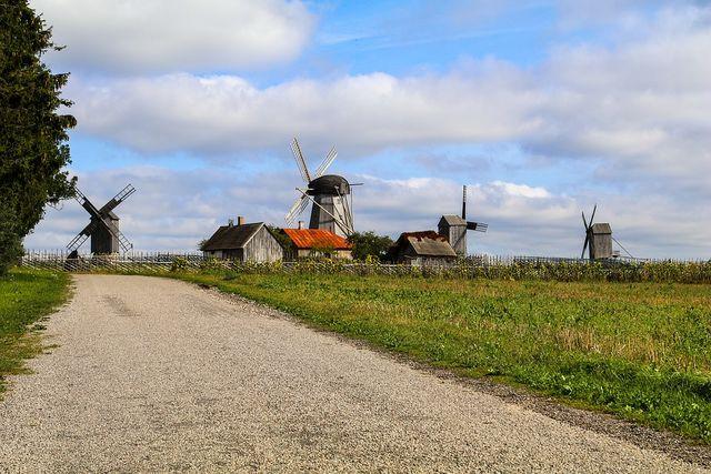 Molens in Saaremaa