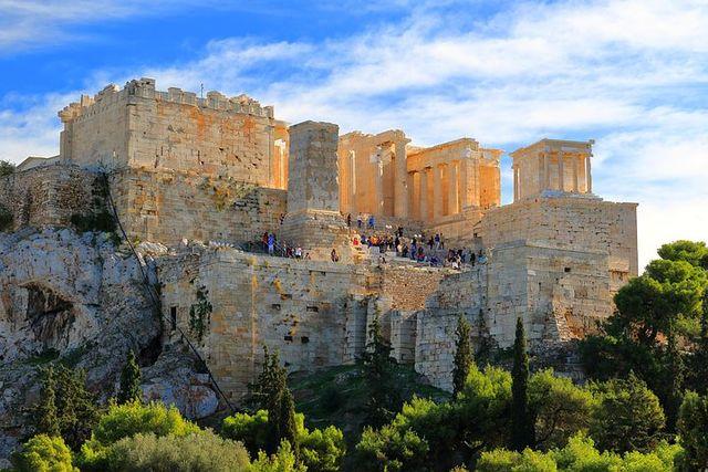 Acropolis in Athene
