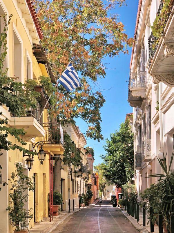 Wijk in Athene