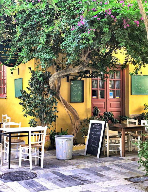 Straatbeeld Griekenland