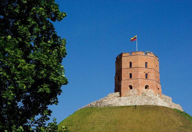 Gediminas toren in Vilnius