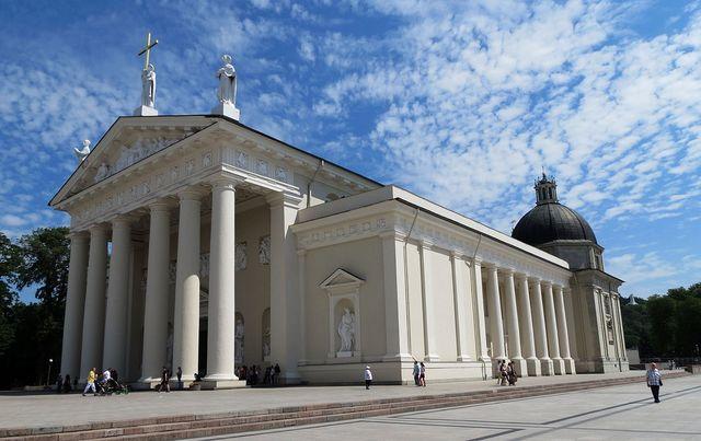 Witte kerk in Vilnius