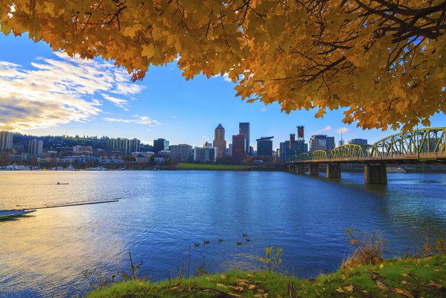 Skyline van Portland